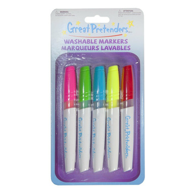 Great Pretenders Colour in Marker Set of 5 Markers