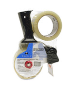 Sparco Two Roll Packaging Tape with Pistol Grip Dispenser