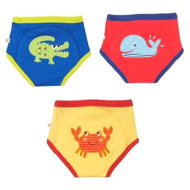 Zoocchini Organic Training Pants Boys Ocean Friends