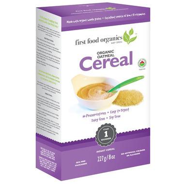 First Food Organics Oatmeal Cereal