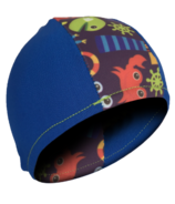 Bummis Swim Cap Under The Sea Blue