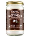 Dr. Bronner's Organic Whole Kernel Virgin Coconut Oil Large