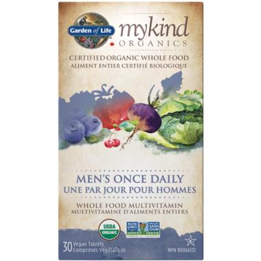 Garden of Life MyKind Organics Men\'s Once Daily Multivitamin