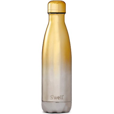 S\'well Ombre Metallic Collection Stainless Steel Water Bottle Yellow Gold