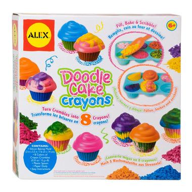 Alex Doodle Cake Crayons