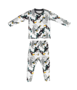 Nest Designs Organic Cotton Two Piece PJ Set Jungle Fever