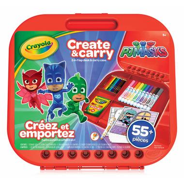 Crayola PJ Masks Create and Carry