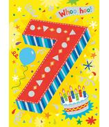 Peaceable Kingdom Age 7 Pattern Foil Card