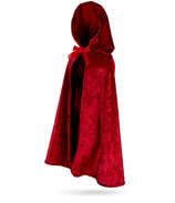 Great Pretenders Little Red Riding Hood Cape Size 5-6