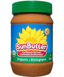 Sunbutter Organic Sunflower Seed Spread Unsweetened