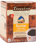 Teeccino Hazelnut & Almond Roasted Herbal Tea