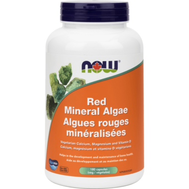NOW Foods Red Mineral Algae