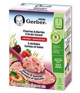 Gerber 5 Grains Cherries & Berries Toddler Cereal