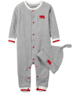 Little Blue House Infant Coverall & Hat Work Sock