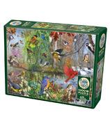 Cobble Hill Birds of the Season Puzzle