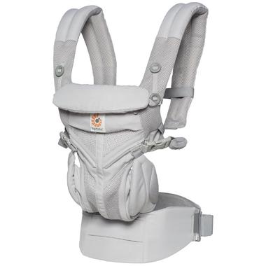 Ergobaby Omni 360 Cool Air Mesh Baby Carrier Pearl Grey