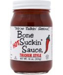 Bone Suckin' Sauce Thicker Style Hot BBQ Sauce