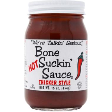 Bone Suckin\' Sauce Thicker Style Hot BBQ Sauce