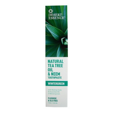 Desert Essence Natural Tea Tree Oil & Neem Toothpaste