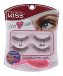 Kiss Pro Lash Fake Eyelashes Double Pack # 03
