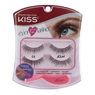 Kiss Pro Lash Fake Eyelashes Double Pack # 03