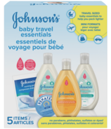 Johnson's Baby Travel Essentials Gift Pack