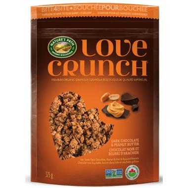 Nature\'s Path Love Crunch Premium Granola Dark Chocolate & Peanut Butter