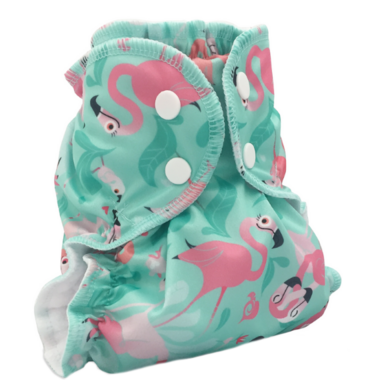 AppleCheeks Diaper Cover Flamingle