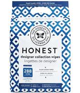 Lingettes Blue Ikat de la collection Honest Designer de The Honest Company
