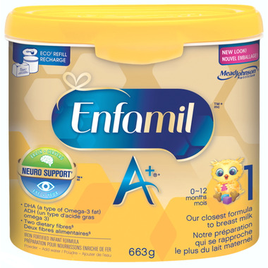 Enfamil A+ Powder Tub