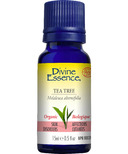Divine Essence Tea Tree Organic Essential Oil
