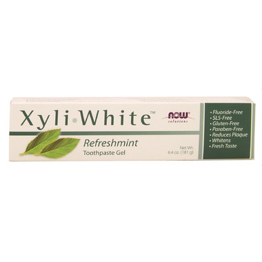 NOW Solutions XyliWhite Refreshmint Toothpaste Gel
