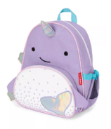 Skip Hop Zoo Little Kid Backpack Narwhal