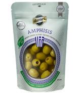 Olives vertes dénoyautées Amphisis de Dumet Organic