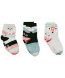 Q for Quinn Organic Cotton Socks Artic Animals Socks