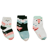 Q for Quinn Organic Cotton Socks Artic Animals Socks