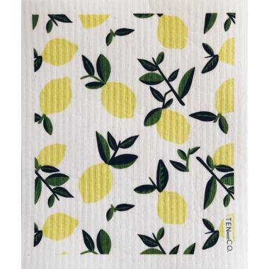 Ten & Co. Swedish Sponge Cloth Vintage Citrus Lemon