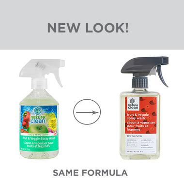 Nature Clean Fruit & Veggie Wash Spray