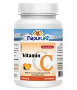 MapleLife Vitamin C 1000 mg Effervescent Tablets