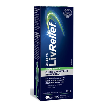 Buy Livrelief Extra Strength Chronic Angry Pain Relief