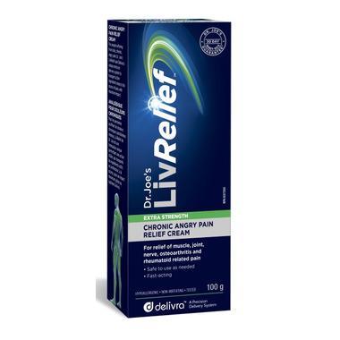 LivRelief Extra Strength Chronic Angry Pain Relief Cream