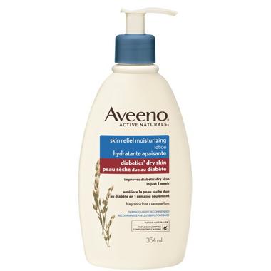 Aveeno Skin Relief Diabetic\'s Dry Skin