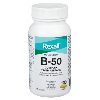 Rexall Timed Release B-50 Complex
