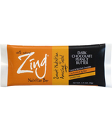 Zing Bars Dark Chocolate Peanut Butter Nutrition Bars