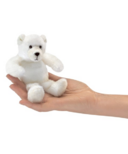Folkmanis Polar Bear Finger Puppet