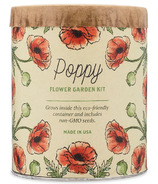 Modern Sprout Waxed Planter Poppy