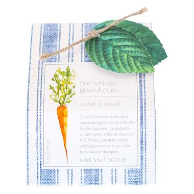 The Cottage Greenhouse Carrot & Neroli Fine Salt Scrub