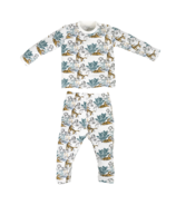 Nest Designs Organic Cotton Two Piece PJ Set Wild Tiger