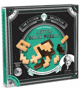 Professor Puzzle Einstein's Letter Block Puzzle