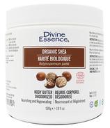 Divine Essence Organic Shea Butter Deodorized